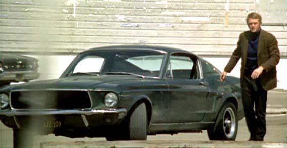 1968 Ford Mustang 390 GT Bullitt Mustang