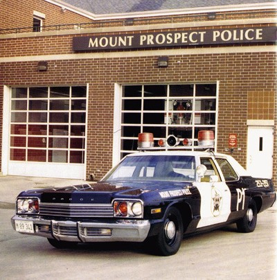 """1974 Dodge Monaco Mount Prospect Police Car from """"Blues Brothers"""""""
