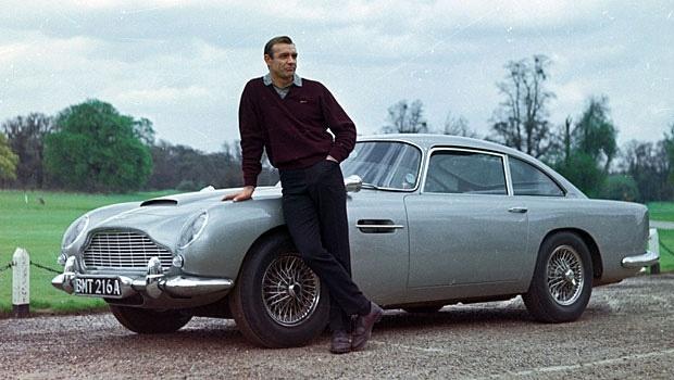 Aston Martin DB5 from Jame's Bond
