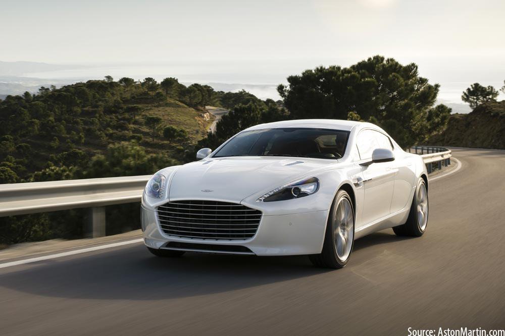 10 New EVs: Aston Martin RapidE