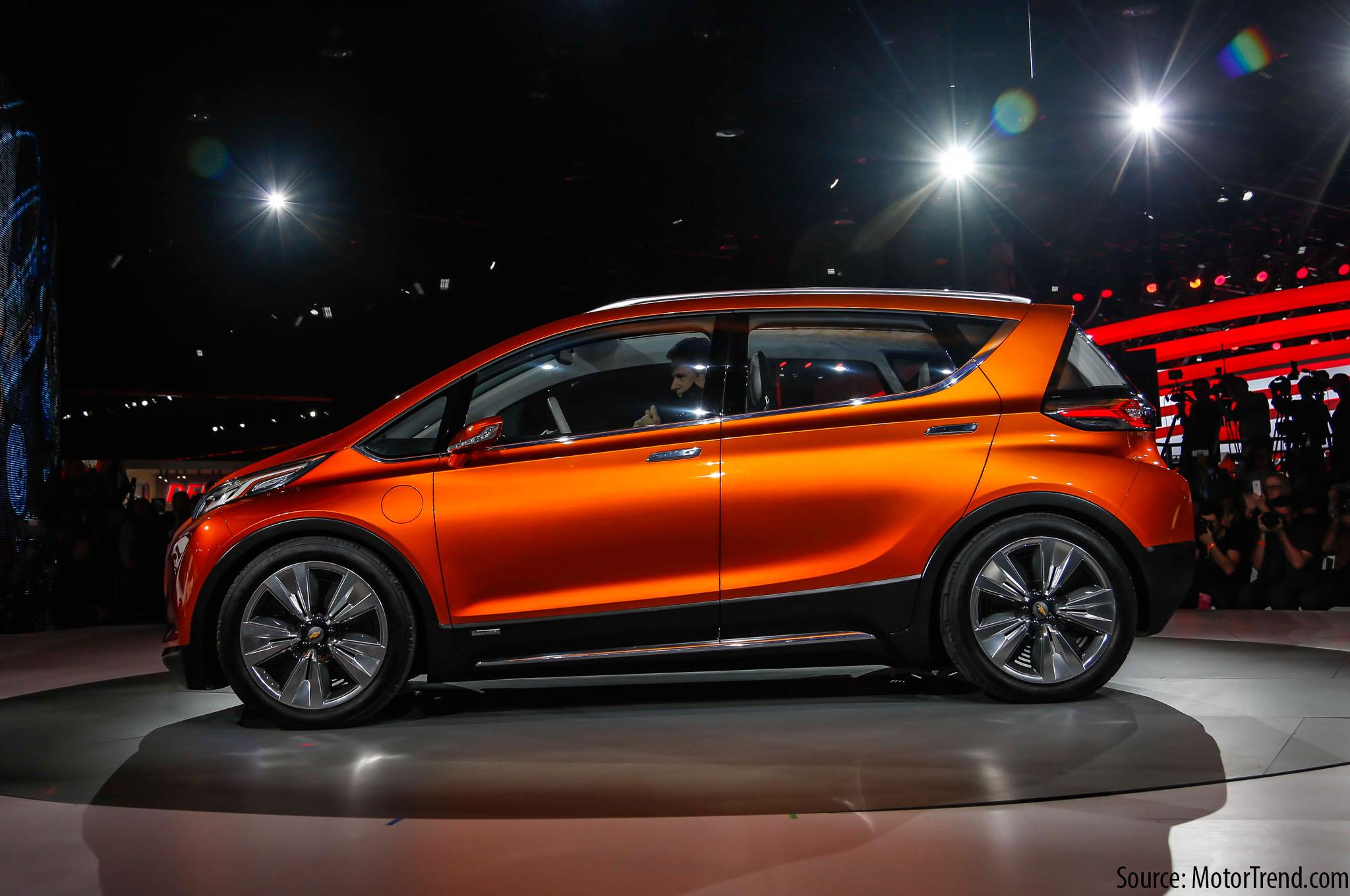 10 New EVs: Chevy Bolt EV