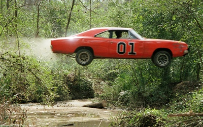 """The 1969 Dodge Charger General Lee from """"The Dukes of Hazzard"""""""