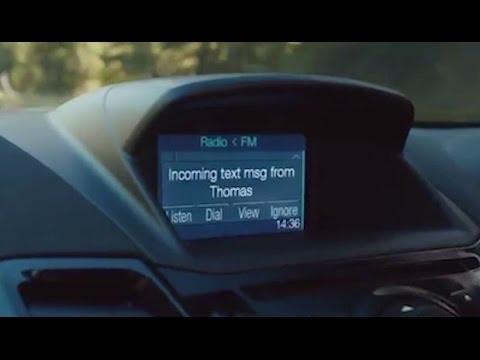 In-Car Text Reader