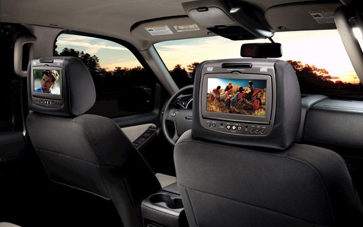 In-Car Visual Entertainment Center