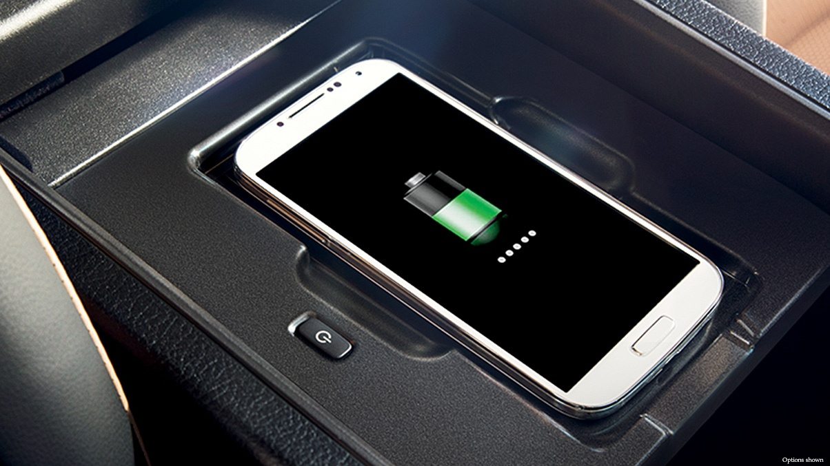 In-Car Wireless Charging Pad