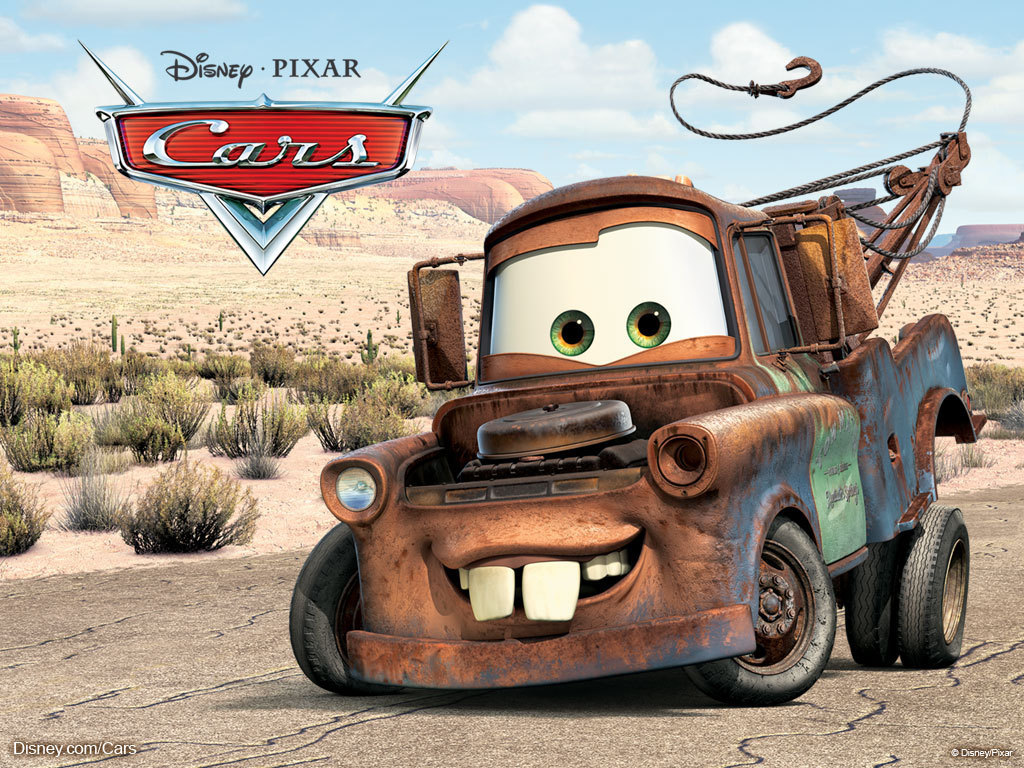 """Mater the Tow Truck from """"Cars"""""""