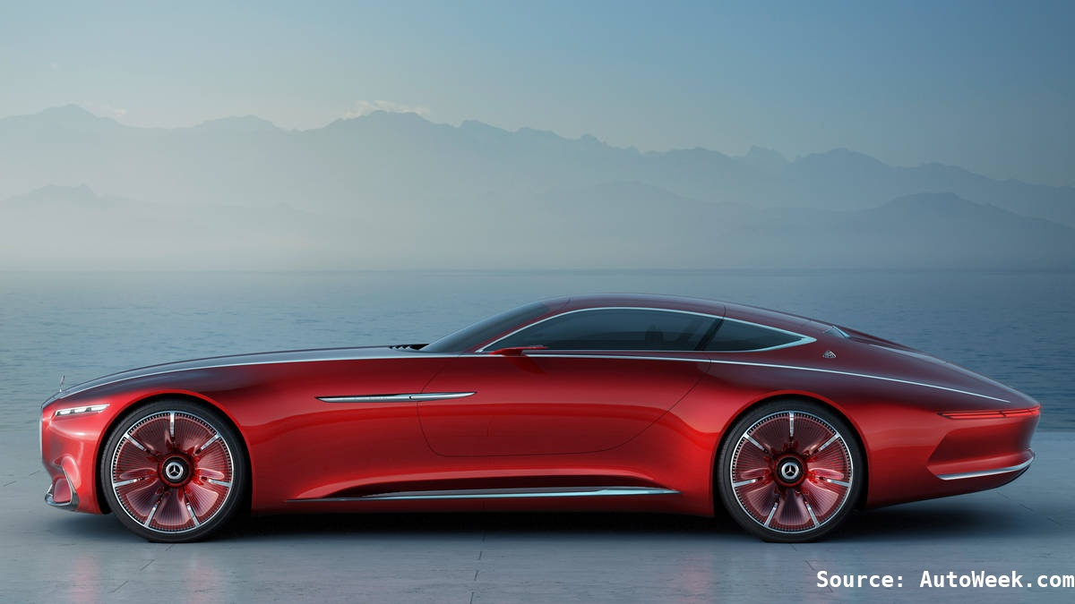 Our 5 Favorite Concept Cars in 2016: Mercedes Vision Mercedes-Maybach 6