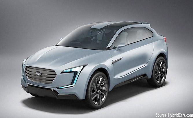10 New EVs: Subaru EV