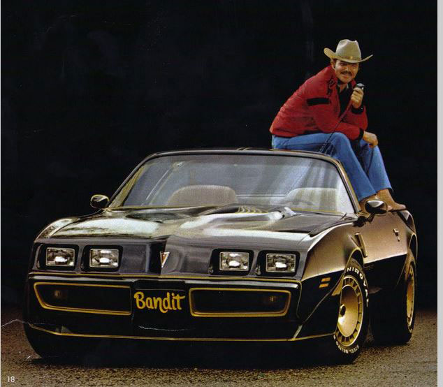 """1977 Pontiac Trans Am from """"Smokey and the Bandit"""""""