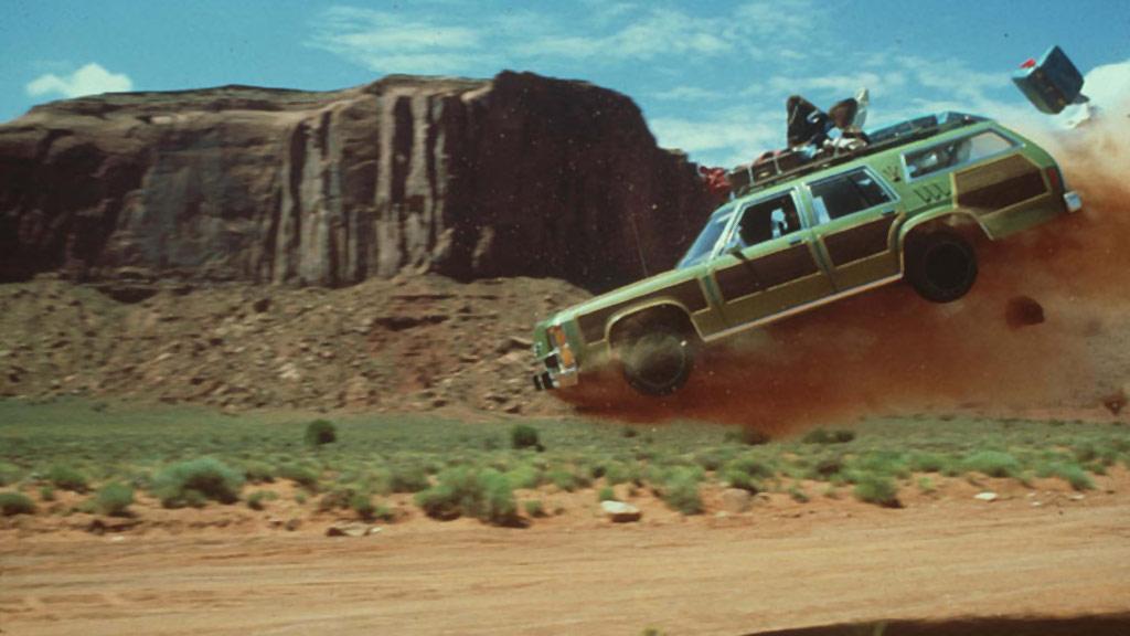 Vacation Roadtrip Car Airborne
