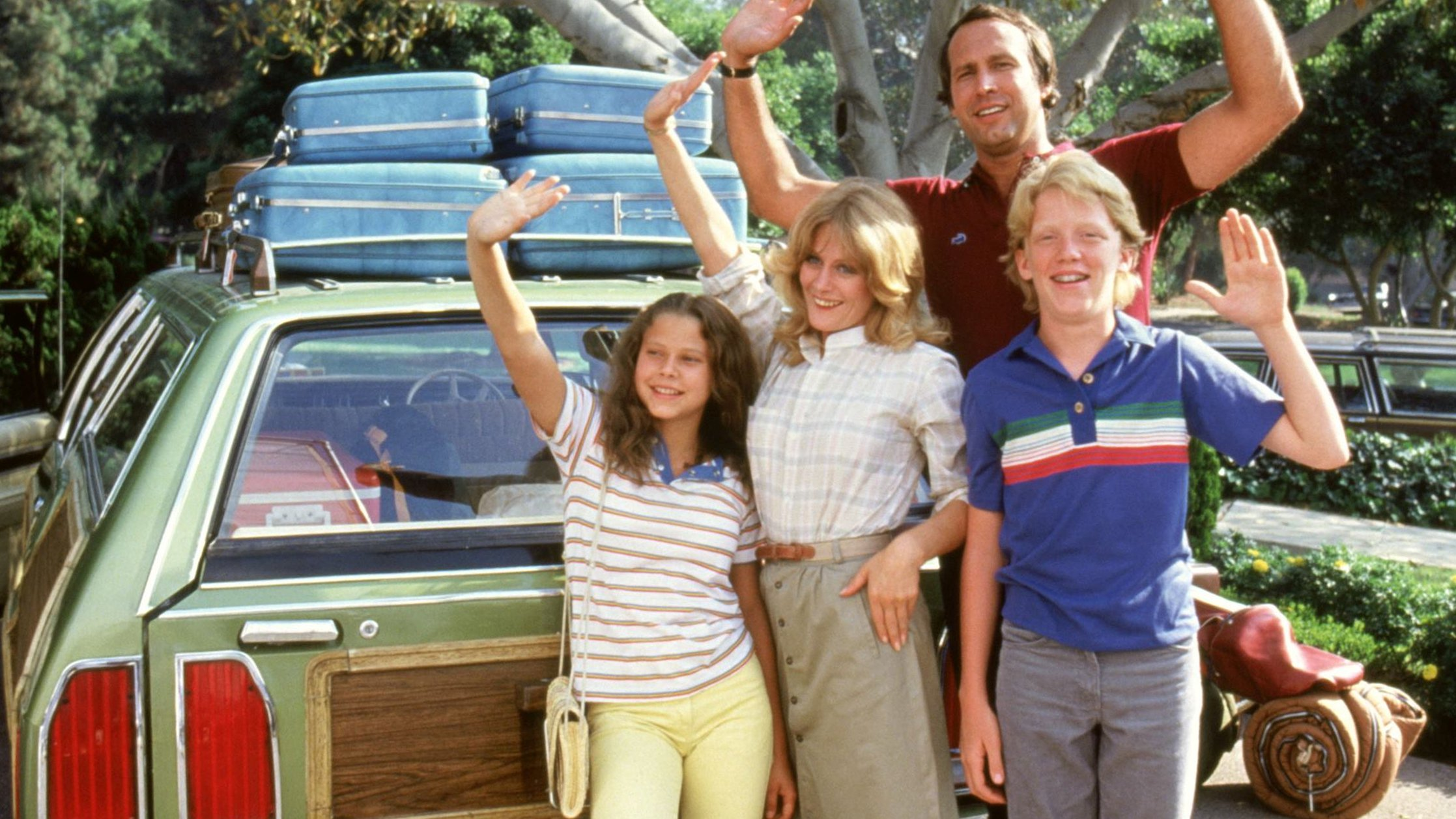 Vacation Roadtrip Happy Griswold Family