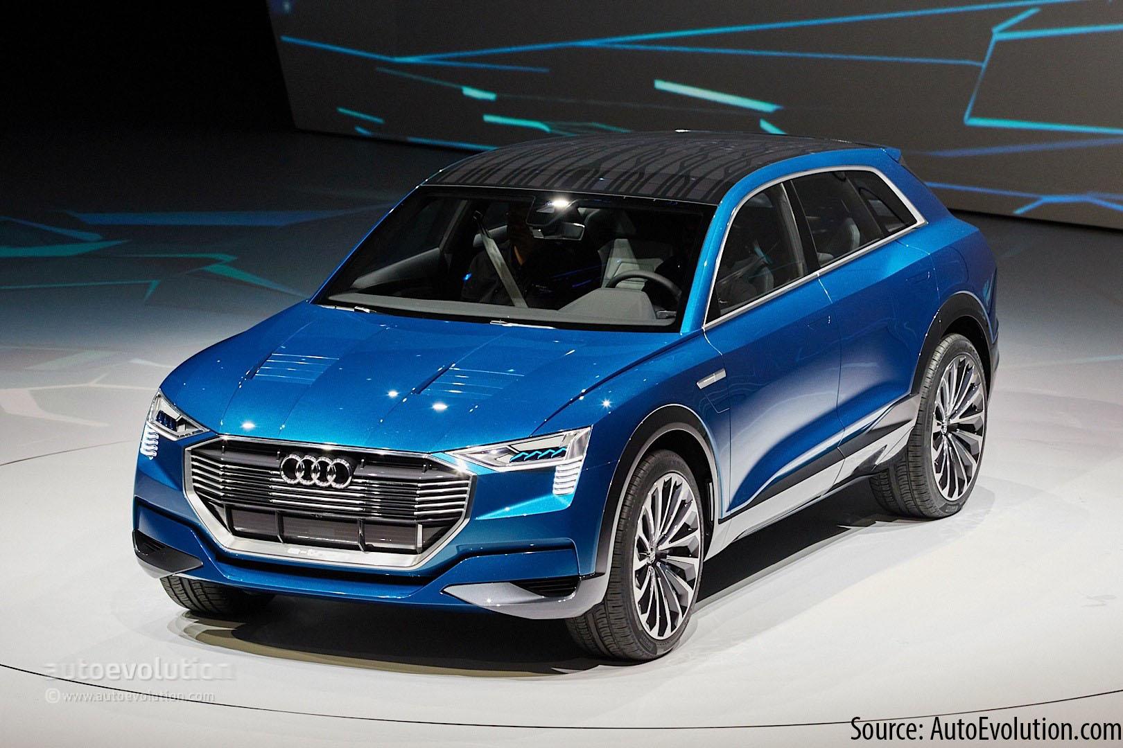 10 New EVs: Audi E Tron