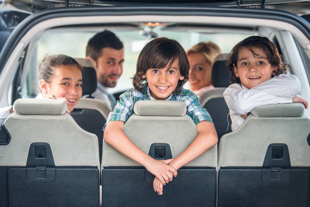 kids in a car